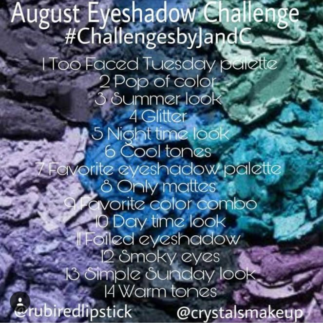 Summer Eyeshadow Challenge