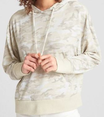 Cream Camo Sweater